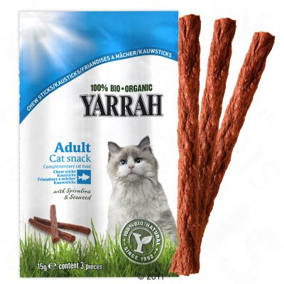 Yarrah Bio Nature's Finest Chew Sticks - 3 x 3 sticks