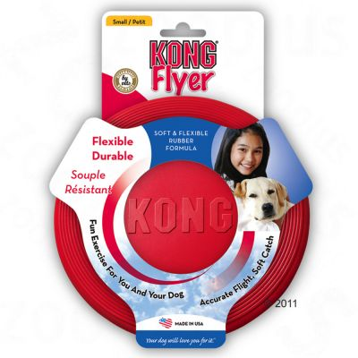 Kong Flyer Dog Frisbee - Large - diameter 23cm