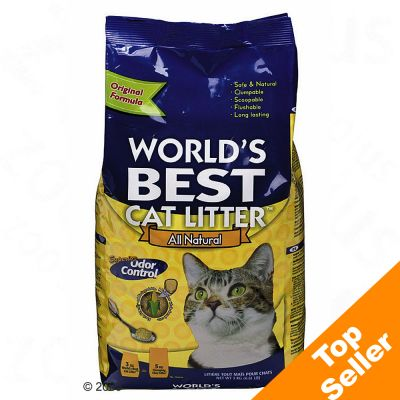 World´s Best Cat Litter - Saving Pack 2 x 15 kg