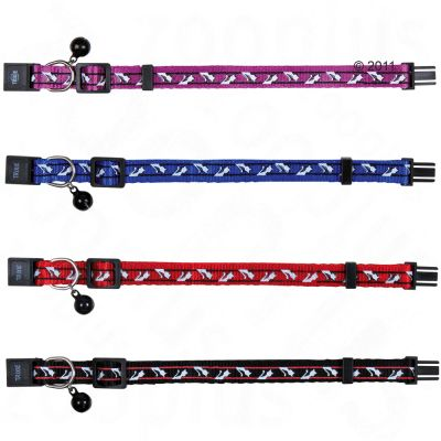 Trixie Cat Collar with Bells - up to 30cm - Various colours