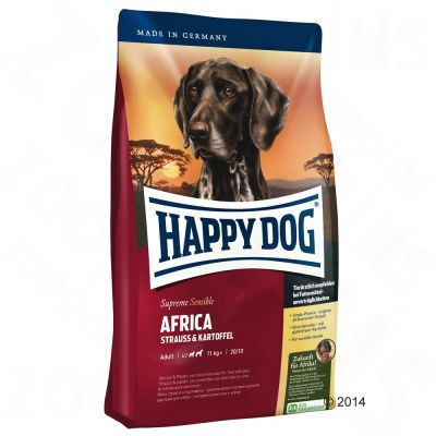 Happy Dog Supreme Sensible Africa - 12,5 kg
