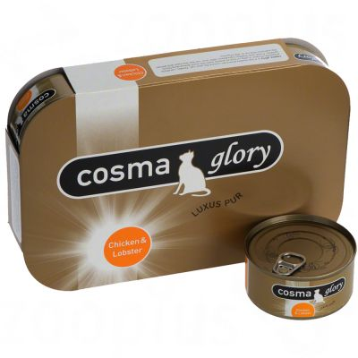 Cosma Glory in Jelly 6 x 170g - Chicken with Tuna Caviar
