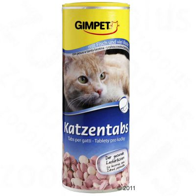Gimpet Cat Tabs with Fish - Saver Pack: 3 x 350 Treats