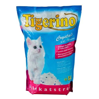 Tigerino Crystals XXL Cat Litter - 5 l
