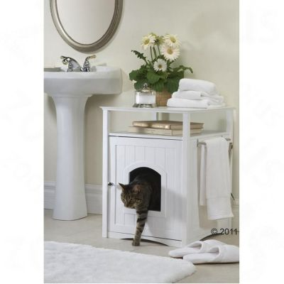 Wooden Pet Room - Pet Room white (52 x 49 x 64 cm L x W x H)