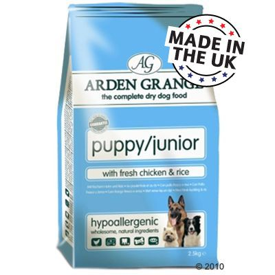 Arden Grange Dog Puppy/Junior Chicken & Rice - 7.5 kg