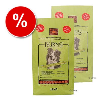 Burns Pork & Potato - Economy Pack: 2 x 15 kg