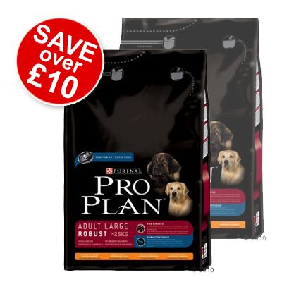 Pro Plan Adult Large Breed Robust Chicken & Rice - Economy Pack 2 x 14 kg