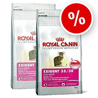 Royal Canin Exigent 35/30 Savour Sensation - Economy Pack: 2 x 10 kg