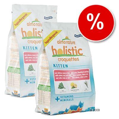 Almo Nature Holistic Kitten Salmon, Tuna & Rice - Economy Pack: 3 x 2 kg