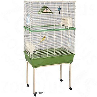 Cage pour oiseaux Kira Imac- L 80 x l 48,5 x H 157 cm