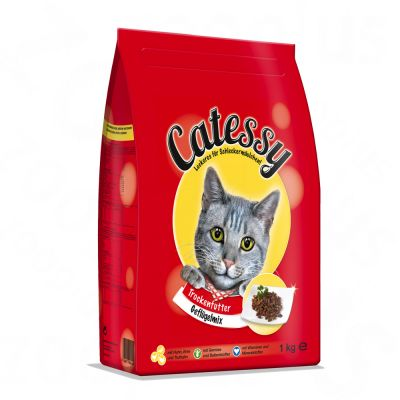 Catessy Dry Cat Food Adult - Poultry Mix - Economy Pack: 2 x 4kg