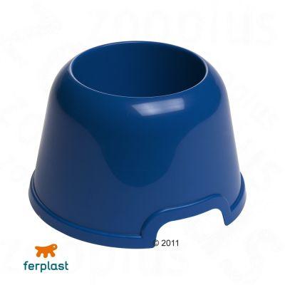 Party Long Ear Dog Bowl, plastic, 0.5 l - blue