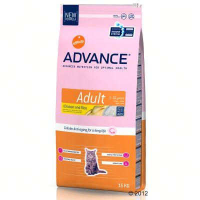Croquettes pour chat Advance Adult - Poulet & Riz- 3 kg