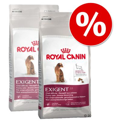 Royal Canin Exigent 33 Aromatic Attraction - Economy Pack: 2 x 10 kg