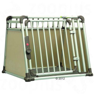 Boxen & Autozubehör - Hunde-Transportbox - 4pets Hundebox ComfortLine four - Größe L: B 81,5 x T 93,5 x H 68,6 cm