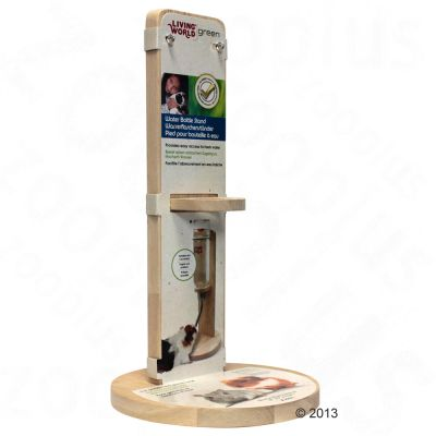 Support pour abreuvoir Living World Green - taille S : 15 cm de diametre x H 26,5 cm