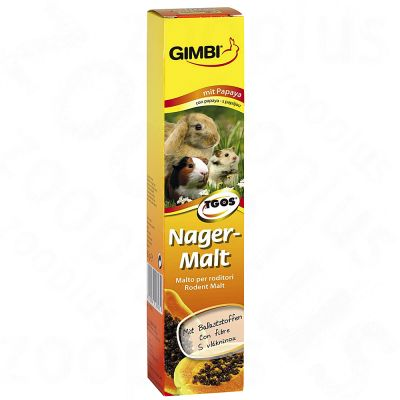 Gimbi Pa¢te au malt pour rongeur - 50 g