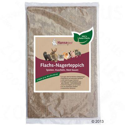 Hansepet Tapis pour rongeur - 2 x tapis : L 40 x l 25 x H 0,8 cm