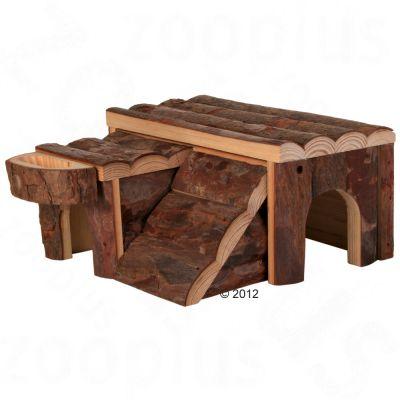 Luka Log Cabin -  15 x 13.5 x 7 cm (L x W x H)