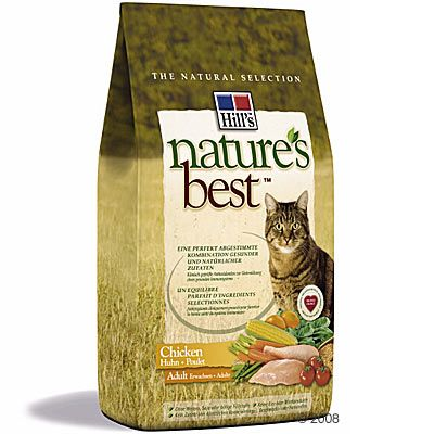 Hill´s Nature´s Best Feline Adult Huhn - 4 kg
