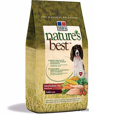Hill´s Nature´s Best Canine Adult Mini / Medium Hundefutter – 2 kg