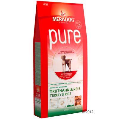 Mera Dog pure Turkey & Rice - 12.5 kg