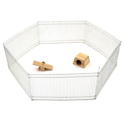 Enclos pour petit rongeur - enclos (6 elements) : L 25 X l 48 cm