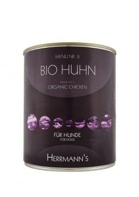 Herrmanns Organic Menu 6 x 800 g - Beef with Sweet Potato & Squash (grain-free)