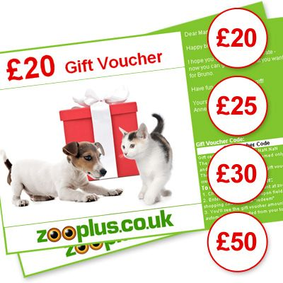 Zooplus Gift Voucher - Value: £20