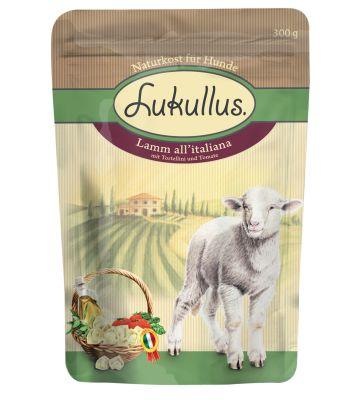 Lukullus Pouches 6 x 300g - Italy: Lamb all'italiana