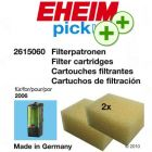 Eheim Ehfi Foam Filter Cartridges - for model 2006 / 261506