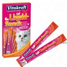Vitakraft Cat liquid Snack with Chicken & Taurine - 6 x 15 g