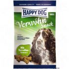 Happy Dog Indulgence Snack - Saver Pack 3 x 100 g