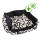 Snuggle Bed Circles - 50 x 45 x 15 cm (L x W x H)