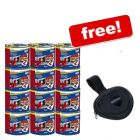 12 x 635 g Bozita Wet Food + Dog Poop Bag Dispenser Free! - Reindeer