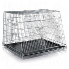 Trixie Double Transport Cage - 93 x 79 x 68 cm (L x W x H) / Roof Depth 48cm