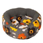 Summer Flower Snuggle Bed - 50 cm x  20 cm (Diameter x H)