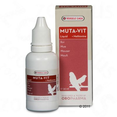 Versele-Laga Muta-Vit Liquid Moulting Supplement - 30 ml