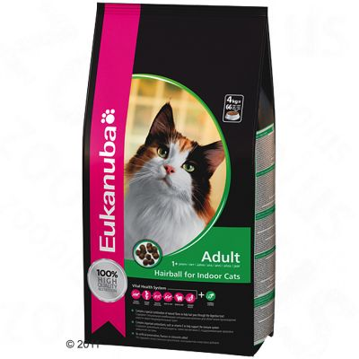 Eukanuba Adult Hairball Chicken & Liver - 4 kg