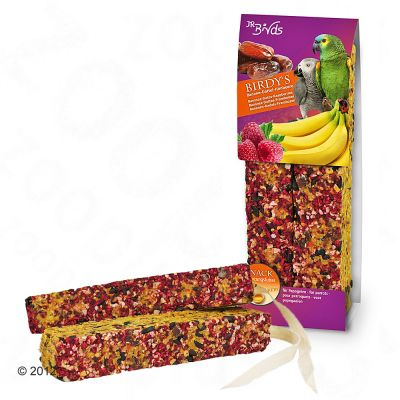 JR Birdy's Papagei - 2 Sticks banana & date