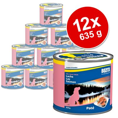 Bozita Canned Food 12 x 635 g Value Pack - Beef & Potatoes