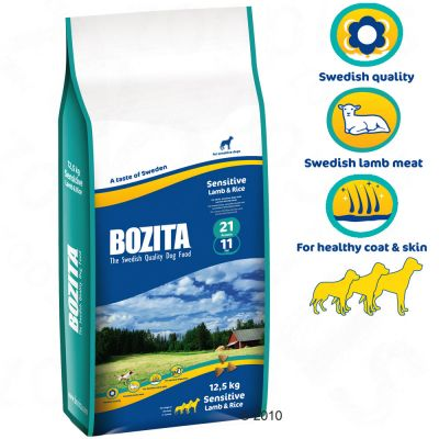 Bozita Sensitive Lamm & Reis 21/11 – 5 kg