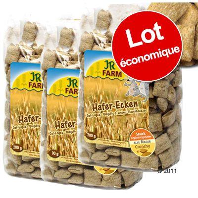Carrés d´avoine pour rongeur JR Farm- 3 x 300 g