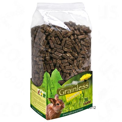 JR Farm Grainless Complete pour lapin nain - 1,35 kg