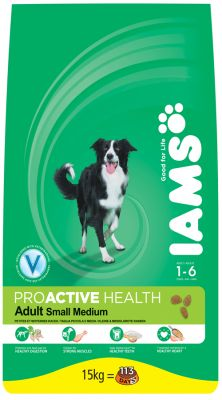 IAMS Adult Small Medium Breed Rich Chicken - 15 kg