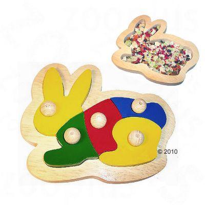 Jeu d´intelligence pour rongeur, lapin et furet Mümmler- 1 jouet