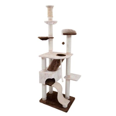 Cebu Cat Tree - brown-beige