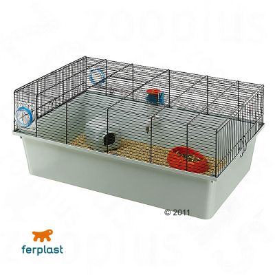 Kios Small Pet Cage - grey