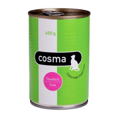 Boîtes pour chat Cosma Original en gelée 6 x 400 g- poulet
